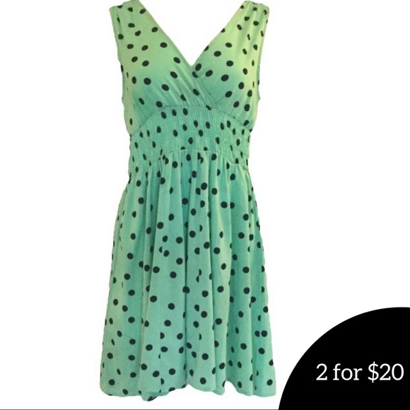 114bfd2d6b2eb Derek Heart Dresses   Skirts - Flirty Polka Dot sleeveless Mini Dress